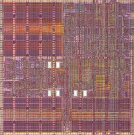 Processor Fetch Unit Tiles connected by software-exposed on-chip