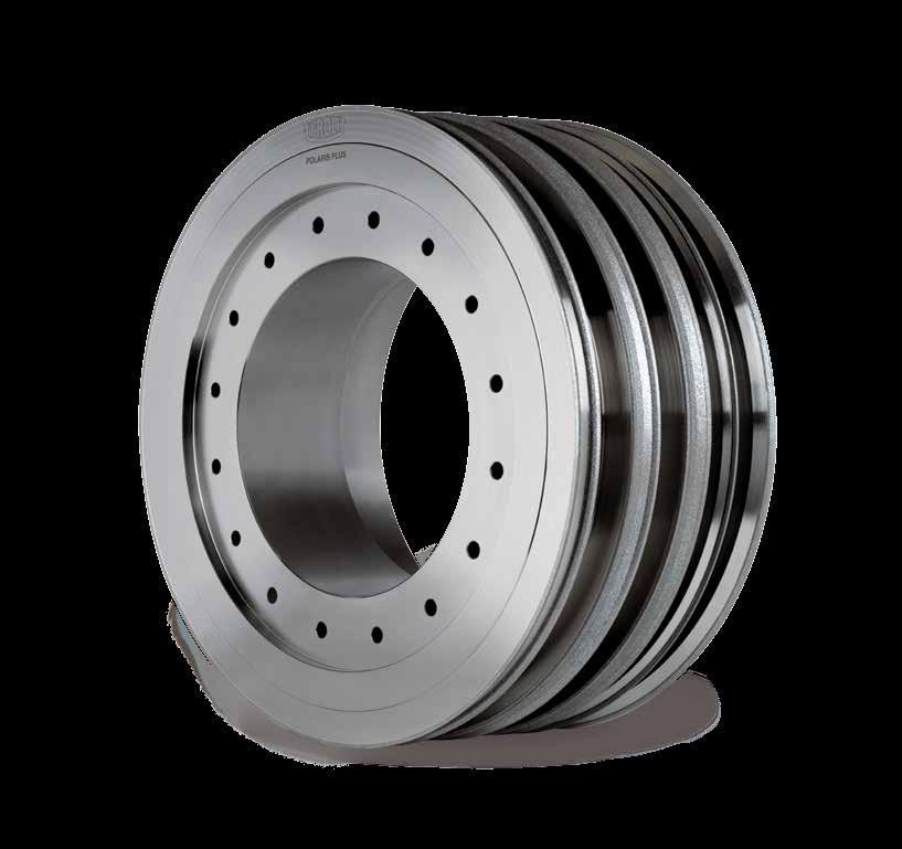 19 POLARIS PLUS grinding wheels Pluge grinding of gear shafts With its POLARIS product line, TYROLIT is the market and technology leader in the production of galvanic bonded grinding tools.