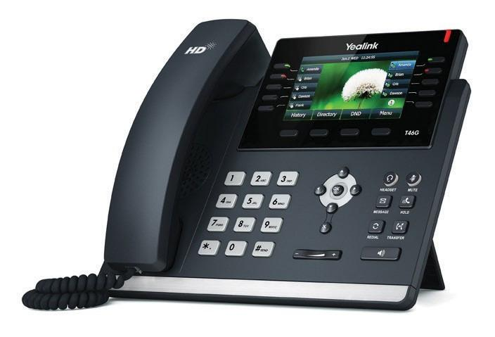 Yealink Gigabit IP Phone SIP-T46G Quick