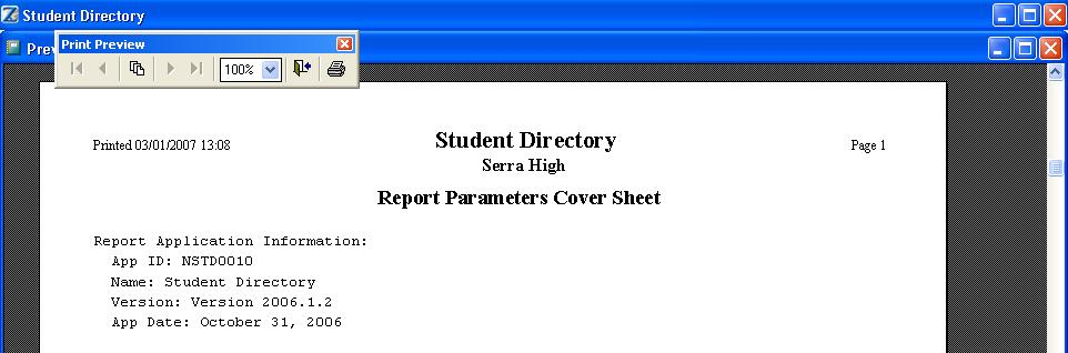 Close the Cover Sheet.
