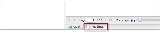 If a wrk rder is assciated with the cllectin f the reading, users can click n the wrk rder number t view the wrk rder's