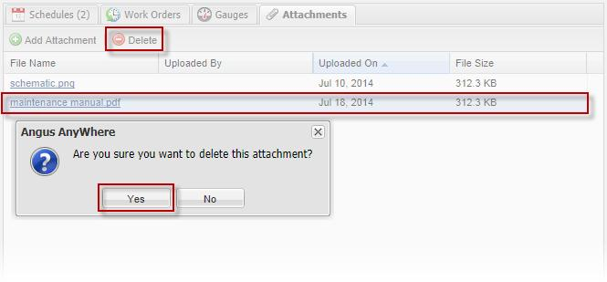 The Attachments Tab! Each attachment can be up t 10MB in size. Files which exceed this size limit cannt be upladed.