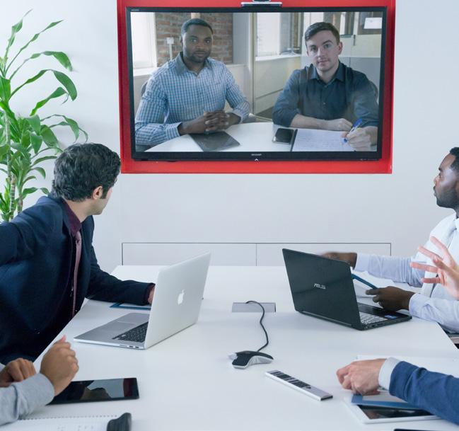 Overview Microsoft and Polycom share a common goal: to deliver a rich collaboration experience across the full spectrum of meeting spaces.