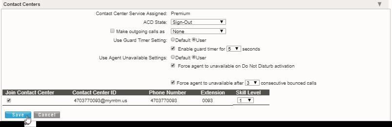 DELETE FIND ME SEQUENTIAL RING While viewing the Find Me Sequential Ring settings dialog: 1. Click the Delete link next to an item in the Sequential Ring Criteria List section to remove the selection.
