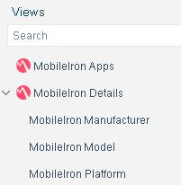 Incorporate asset inventory detections into policies To access the Asset Inventory: 1. Select the Asset Inventory icon from the Console toolbar. 2. Navigate to the MobileIron entries.