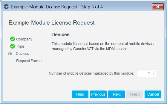 Centralized Licensing Mode When you set up your CounterACT deployment, you must activate a license file containing valid licenses for each feature you want to work with in your deployment, including