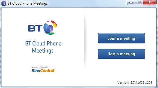 If you re using your computer download it from the Tools tab on your dashboard; visit your Apps store for a smartphone or tablet version. We ll look at the desktop Meeting App to begin with.