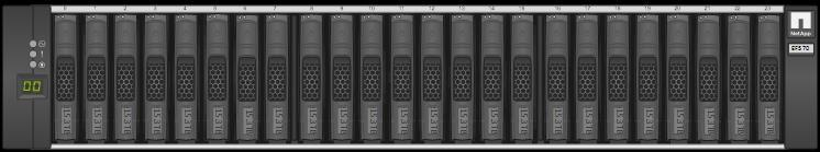6 Hardware Configurations EF570 storage systems, like all E-Series arrays, use a modular approach to hardware configuration.