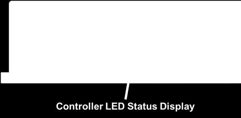 communication link has been established. The dot in the second seven-segment LED is on to indicate a diagnostic code.