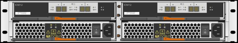 The modular design of the DE224C make the hardware easy to deploy and maintain over the life of the storage system.