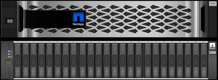 1 Introduction NetApp EF570 arrays have a new modern look, leverage the new 12Gbps DE224C drive shelves, and support a more secure UI (Figure 1).