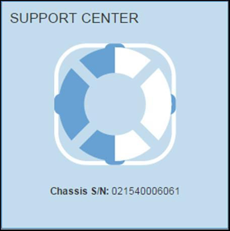 On a running storage system, the chassis serial number is also available through SANtricity System Manager by hovering