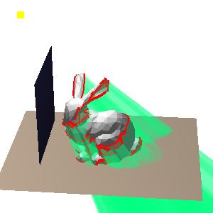 Introduces problems with far clipping plane Solved by clamping the depth during clipping.