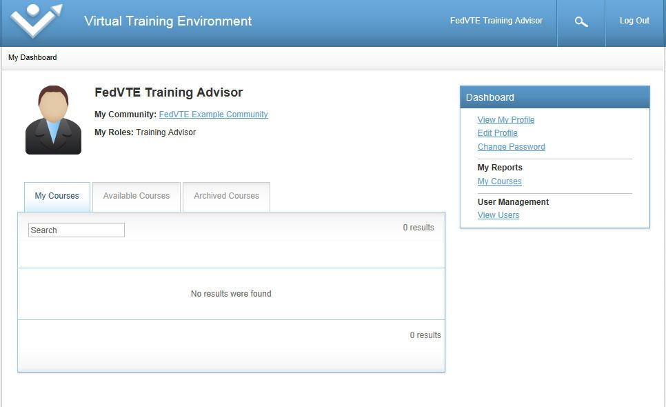 2 TRAINING ADVISOR HOME PAGE Training Advisr (TA) tasks begin at yur hme screen after yu lg int the system with yur TA user credentials.