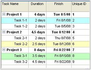 "Build it your way ""Free Form"" Presentation Schedules Link it to Microsoft Project schedules and keep it updated Do you have a unique presentation format?"