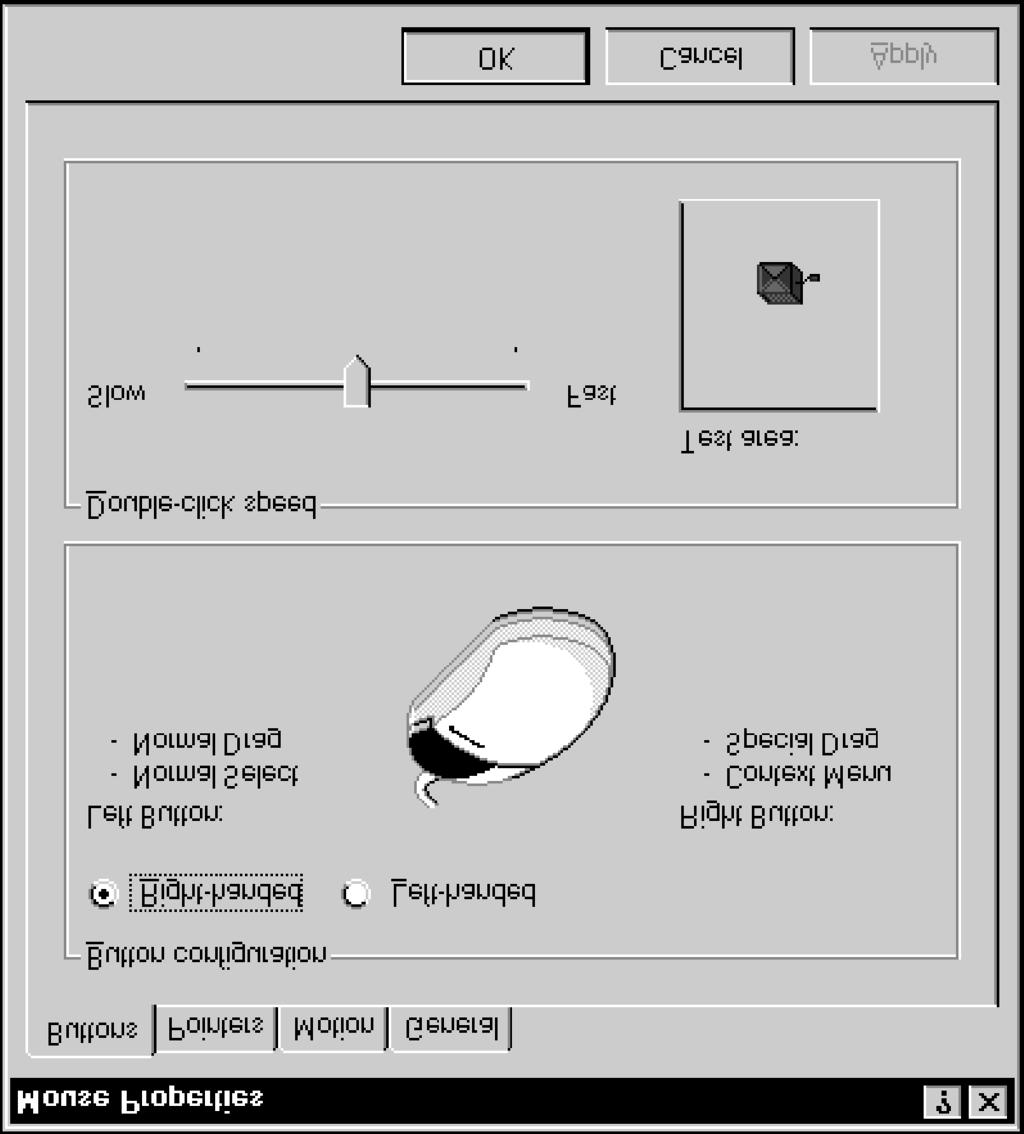 Lesson 20 - Customizing the Mouse Windows NT Basics users.