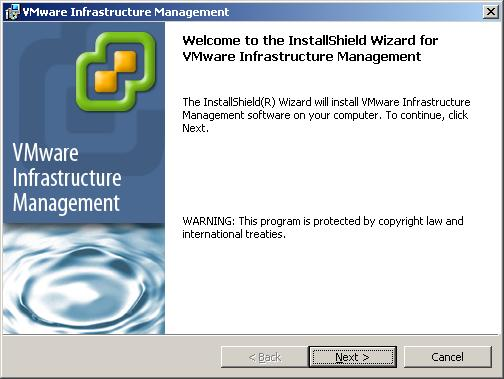 Software Requirements The VirtualCenter Server is supported as a service on the 32 bit versions of the Windows operating systems.
