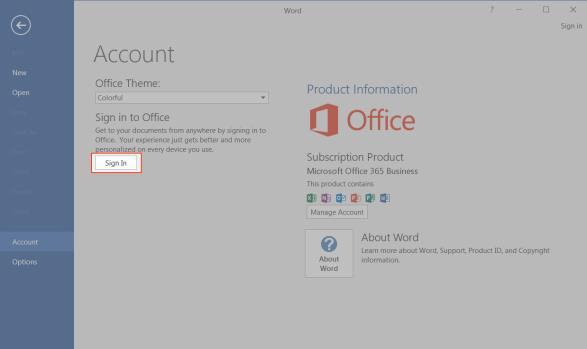 Accessing Cloud Content from Other Instances of Microsoft Office Applications If you have Microsoft Office installed on more than one computer, but you have not yet installed the desktop client on