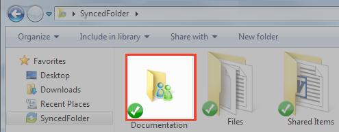 Team shares in Synced Folder: When you work within Team Shares, it is important to be careful and courteous when you edit, delete, and move files and folders.