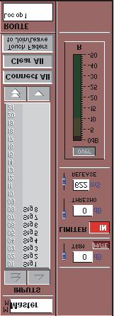 The Master Mute button can be set as a press and hold function in the System/Options panel. A Clear Bus Overs button has been added to the System menu to clear all buss Over indicators at once.