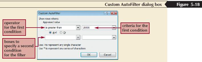 Creating Criteria Filters to Specify More Complex