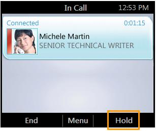 HP 4120 Phone User Guide Manage Multiple Calls Manage Multiple Calls When you are in a call, you