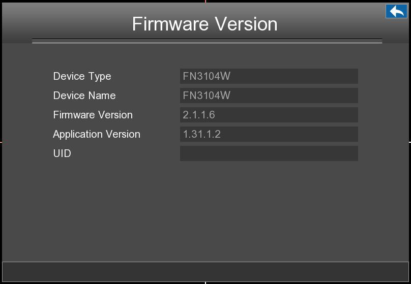 2.4.4 Device Information Choose Menu > Device Information in the Menu interface. The Device Information interface is displayed. You can view the Firmware Version, Manage HDD Info and System Log.