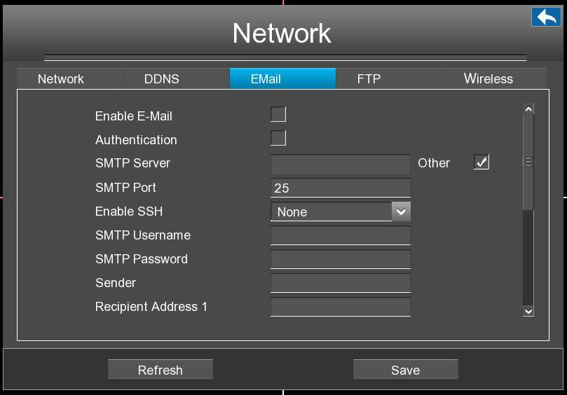 Third Party DDNS:You can also use third part DDNS, such as www.no-ip.com, www. 3322.com. If you set the third party DDNS, refer to 4.2 Common Operations 1.Third Party Domain Name Settings.
