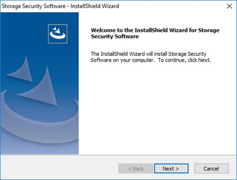 Next > 4 The Welcome to the InstallShield Wizard for