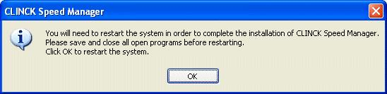 Installation and Setup 13 Figure 2.9: Dialog box asking to restart the computer 6) In the dialog box that appears, click OK.