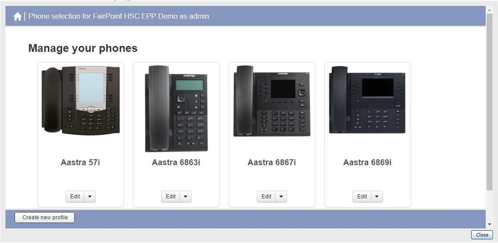Phone profiles define how the programmable keys or soft keys on each phone set type within your business will be used.