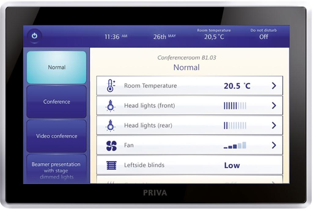 PRIVA BLUE ID Developing the Top Control 8 family, we ve included several tools to help you manage your building and installations: > Priva TC Manager this web-based graphical user interface of the