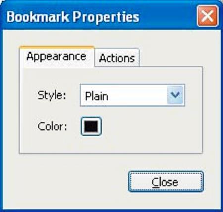 Section Seven: Optimizing the Accessibility of Tagged PDF Documents 57 Wrap long text so text is easier to read. Modify the properties or appearance of bookmarks.