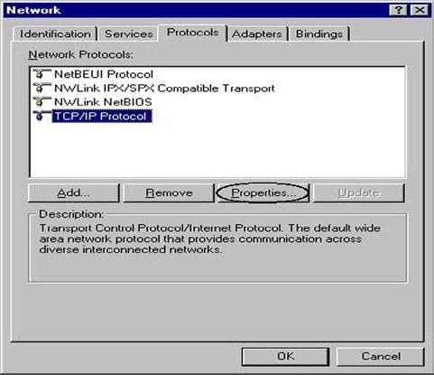 Configuring PC in Windows NT4.0 1. 2.