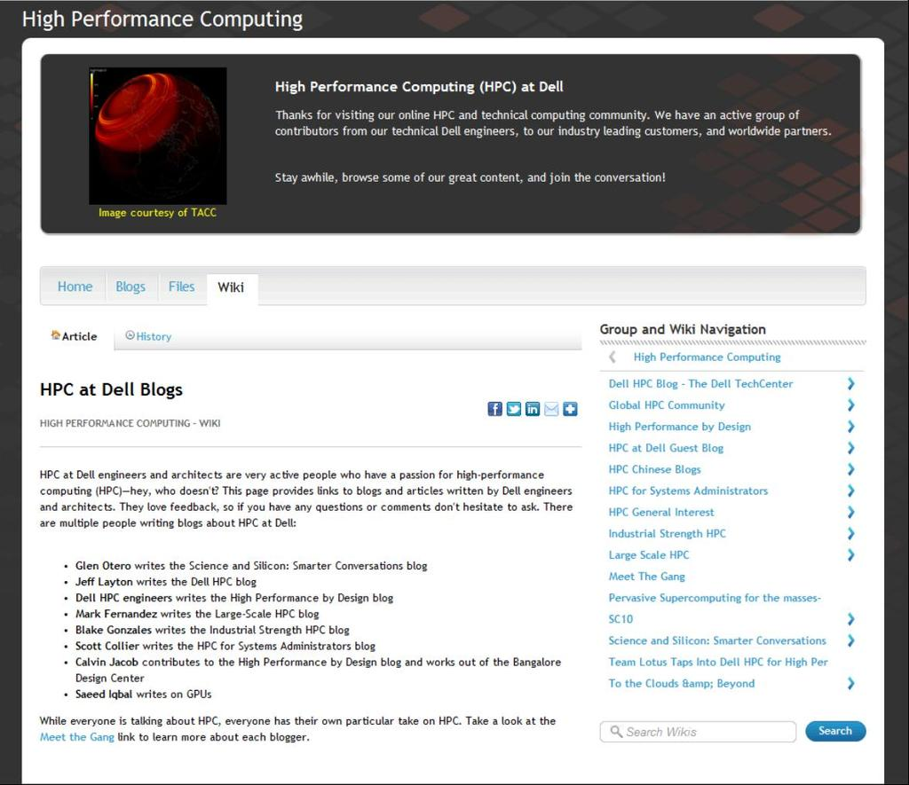 Resources Blogs Whitepapers HPC Advisor Online www.dell.com/gpu www.dell.com/hpc www.