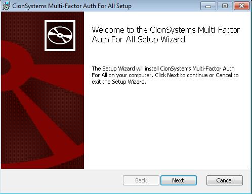 Installing Multifactor The Multifactor Authentication