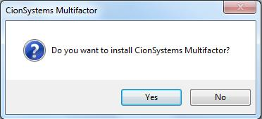 Double click on installer 2. Click on Run 3.
