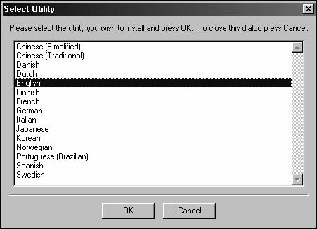 Installation-Windows 98/Me (continued) Printer Driver Installation Fig. 57 Click Install Printer. Fig. 58 Make Appropriate Selections, Click OK. Fig. 60 Read Setup Information. Click Yes. Fig. 62 Choose Language.