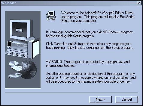 Installation-Windows 98/Me (continued) Local Printer-Windows 98/Me Fig.