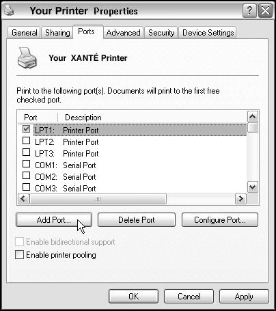 Network Setup Fig. 99 Click Ports tab.