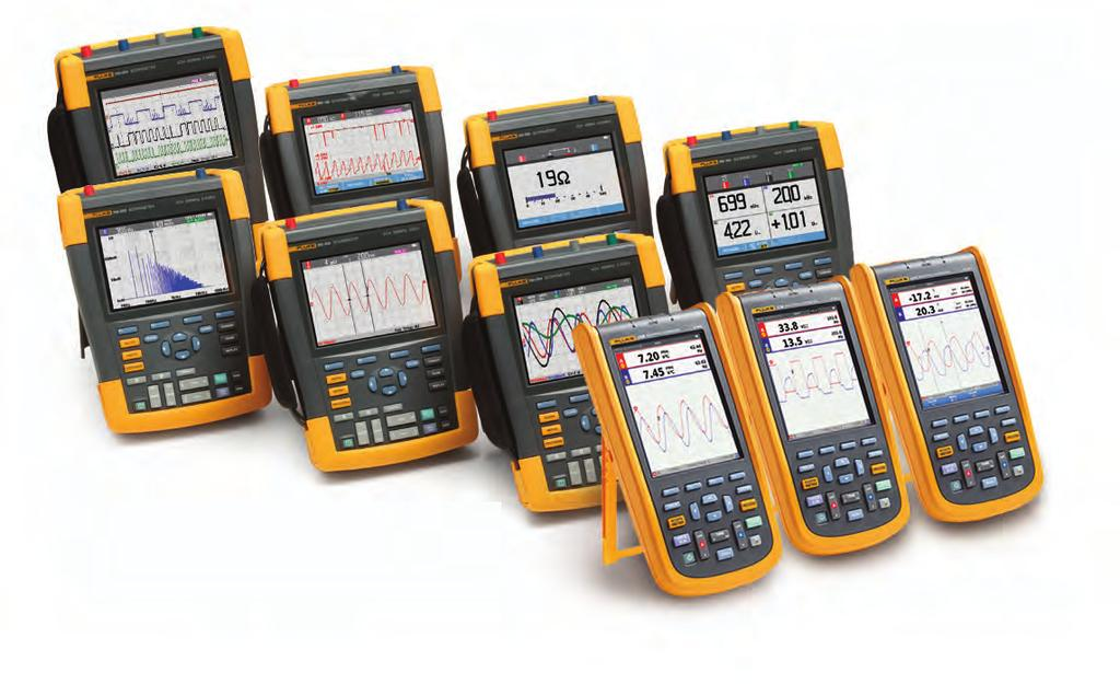 Fluke ScopeMeter Portable Oscilloscopes FlukeView ScopeMeter Software for documenting, archiving and analysis of waveforms Get more out of your ScopeMeter with FlukeView ScopeMeter SW90W software for