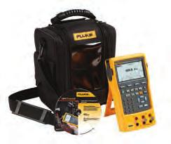 RTDs, frequency, ohms, and pressure to calibrate transmitters Power transmitters during test using loop supply with simultaneous ma measurement Measure/source pressure using any of Fluke s 48