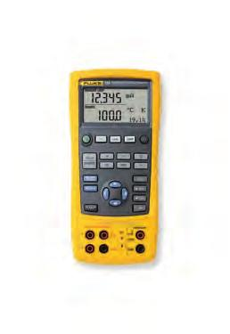 display for easy interpretation of measurements Power down settings remembered at power up for easy restart of tests 1 and 2 year specifications and traceable certificate of calibration Fluke 712B
