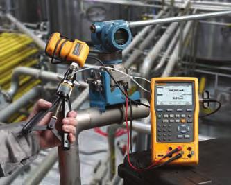measurement with Fluke 750 and 740 Series DPCs and 725, 726 MPCs to measure pressure. A family of 48 Pressure Modules covers pressure calibrations from 0 to 1 in H20 to 10000 psi (2.