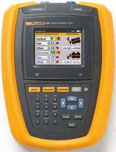 Fluke 830 Laser Shaft Alignment Tool The ideal test tool to precision-align rotating shafts in your facility.