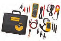 Advanced Electrical Troubleshooting Kit Fluke 1587 FC 2-in-1 Insulation Digital Multimeter Fluke i400 Current Clamp Fluke