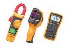 Kit Fluke VT04 Visual Infrared Thermometer Fluke 902 True-RMS HVAC Clamp Meter Fluke 116