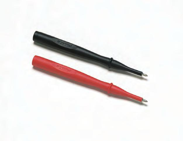 rating TP74 Lantern Tip Test Probe Set One pair (red, black) Tips include banana-style spring contacts with nickel-plated