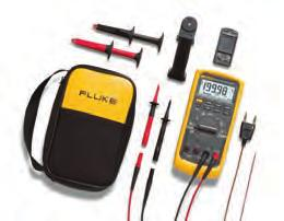 05 % DC accuracy 6000 counts, 3-3/4 digits 4-1/2 digit mode for precise measurements (20,000 counts) Measure up to 1000 V AC and DC Measure