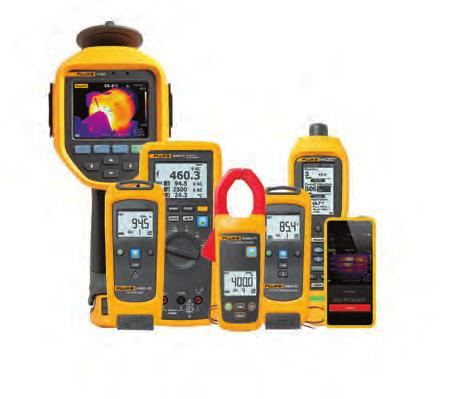 Fluke 370 FC Series True-RMS Wireless AC/DC Clamp Meters Advanced troubleshooting performance.